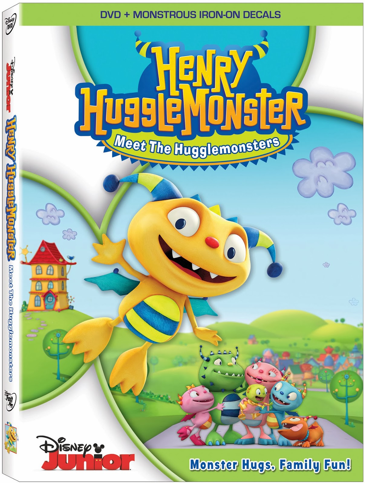 HenryHugglemonster DVD art