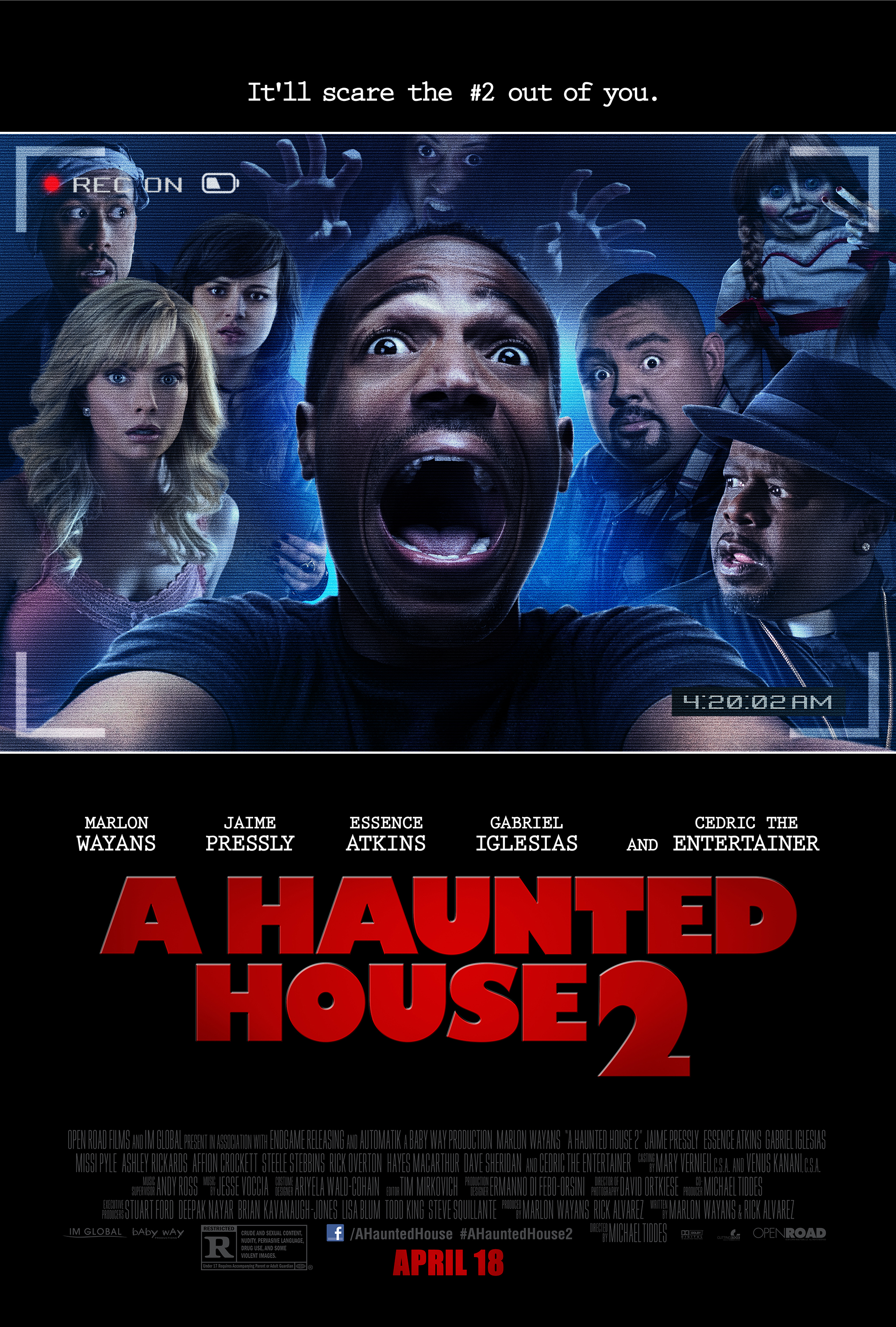 A HAUNTED HOUSE 2 - Poster
