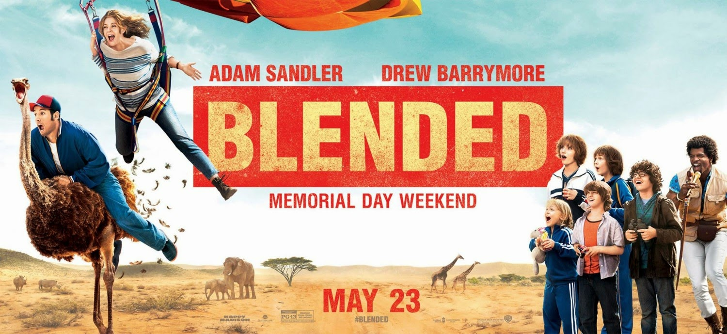 Blended COmedy Movie Poster (3)