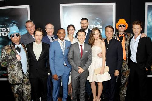 into the storm cast