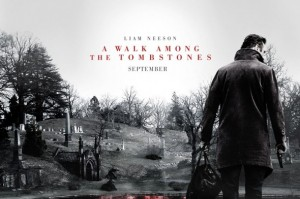 among tombstones poster