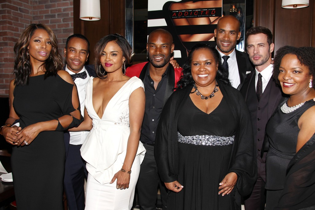 "New York Special Screening of Lionsgate and Codeblack Film's ""ADDICTED"" - Afterparty"